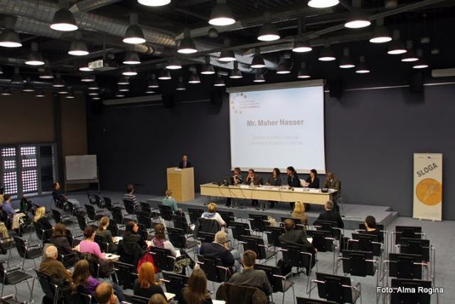 Maher Nasser, UNIS iz Dunaja, otvoritveni govor