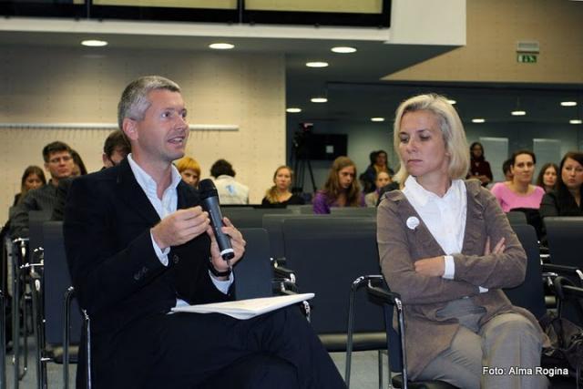 Marjan Huč, koordinator Platforme SLOGA, poda svoje mnenje